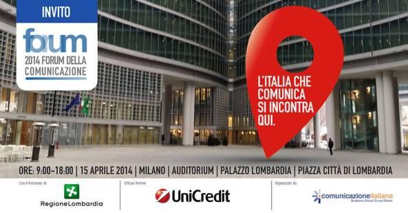Che cosa mi sono portato a casa dal Forum della Comunicazione Italiana 2014