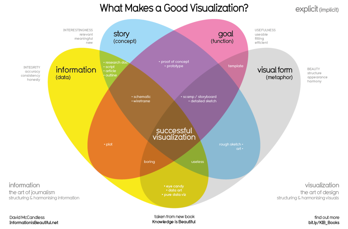what makes a good data visualization -